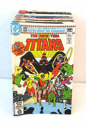Lot Of 47 NEW TEEN TITANS Comics #1-40 + Annuals & Extras Wolfman Perez VF-NM DC