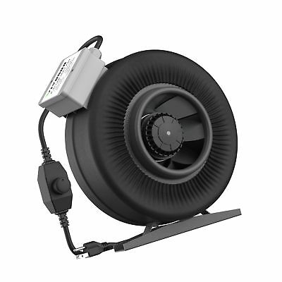 VIVOSUN 6 Inch 440 CFM Inline Duct Ventilation Fan with Variable Speed Contro...