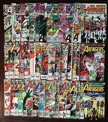 Marvel Avengers Lot - #204-249 - Infinity War - 41 Assorted Issues - Ungraded