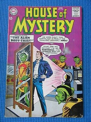 House Of Mystery # 135 - (Fn-) - The Alien Body-Thief