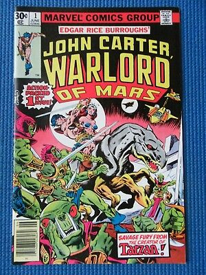 John Carter Warlord Of Mars # 1 - (Nm-) - High Grade - 1St Issue