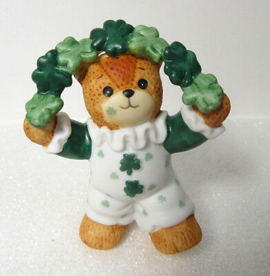 Lucy & Me ~ Jester Clown Juggler ~ St. Patrick's Day Irish Shamrock Figurine