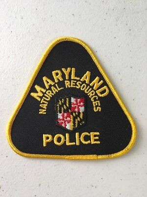 Maryland Department Of Natural Resources Game Warden State Trooper Police Patch
