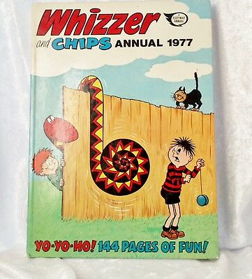 Whizzer and Chips Annual 1977- unclipped and excellent condition
