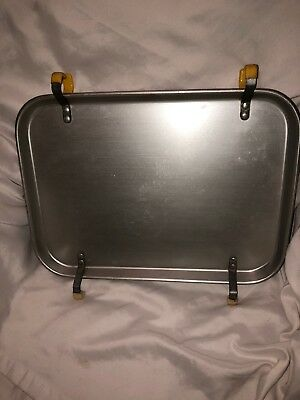 Vintage Aluminum Car Hop Drive In Restaurant Service Car Window Tray