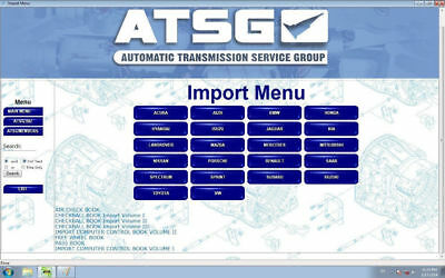 atsg software Automatic Transmissions Service Group Repair Information car 2012