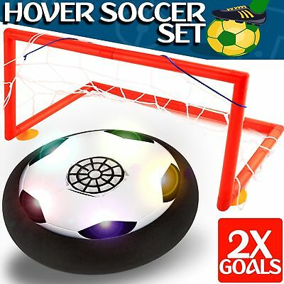 Kids Toys - Hover Soccer Ball Set with 2 Goal, Toy for Boys Girls Age of 2, 3, 4
