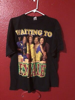 Vintage XL Waiting To Exhale Whitney Houston T-Shirt DOUBLE SIDED Bootleg