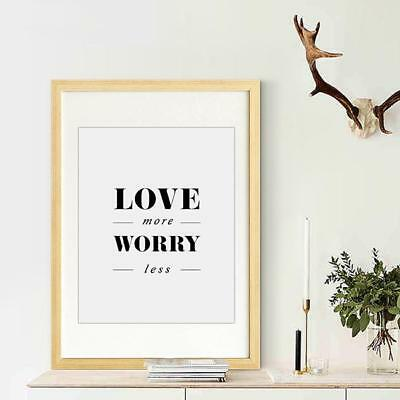 Love Quotes Poster Prints Modern Kids Room Decor Wall Art Canvas Painting 6A
