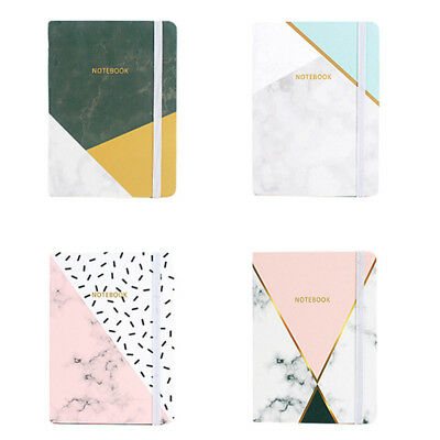 Marble A5/A6/A7 Notebook Pocket Notepad Stationery 96 Sheets Diary Notebook New