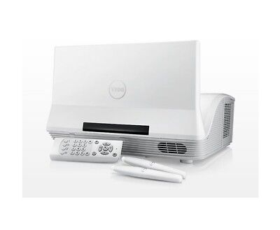 Dell S520 Interactive Projector WIFI , Wall Mount , Remote + 2 Stylus New Boxed