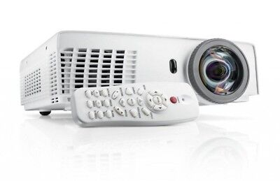 DELL S320 Short Throw Projector HDMI 3000 ANSI lumens with Remote