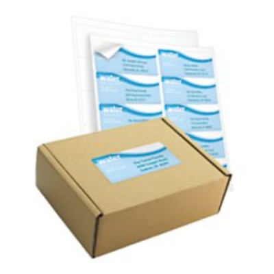 Office Depot White Inkjet/Laser Shipping Labels, 2in. x 4in, Box Of 1,000,