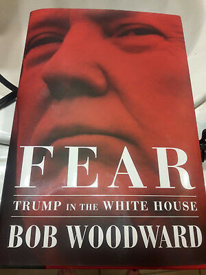 Fear: Trump in the White House Hardcover – September 11, 2018_NEW_FreeShip
