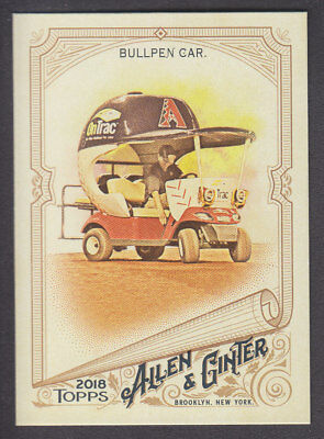 Topps - Allen & Ginter 2018 - Base # 18 Bullpen Car