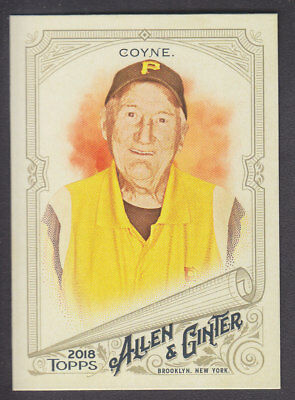 Topps - Allen & Ginter 2018 - Base # 269 Phil Coyne - 100 Yr Old PNC Park Usher