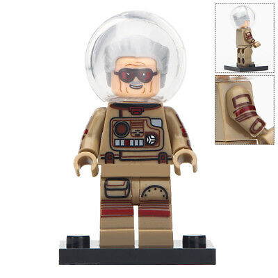 NEW LEGO MINIFIGURE Marvel Avengers Spider-Man Iron Man Creator Stan