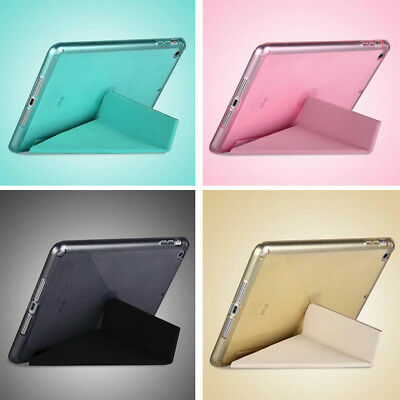 Ultra Thin Magnetic Leather 1 Piece Smart Case Cover Stand Apple iPad