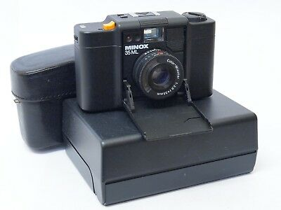 Minox ML 35mm Compact Camera with Case. Stock No u9144