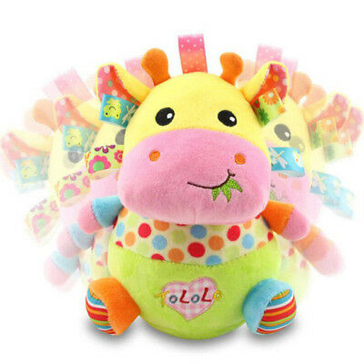 Animal Baby Stroller Playing Tumbler Doll For Baby Educational Toys 6A