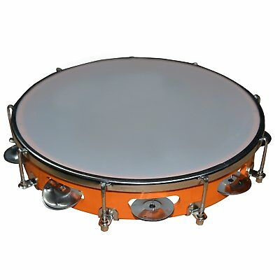 Tambourine Hand Percussion Musical Instrument Free Shipping
