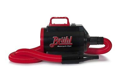 BRUHL MD1900 + Variable Temperature Power Dryer