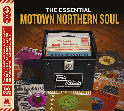 Various Artists : The Essential Motown Northern Soul CD (2018) ***NEW***