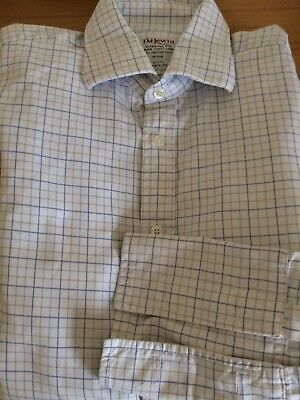 "TM Lewin men's shirt. 15.5"" collar. 36"" arms. Regular fit."