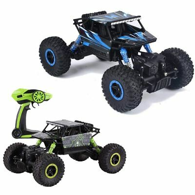 deAO 6 Channel Remote Control Rock Crawler 1:18 Scale Off Road Car Rally Buggy