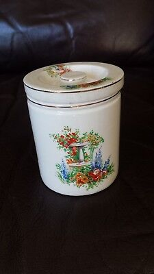Frank Cooper Marmalade Jar and Matching Lid ( Made by Maling)