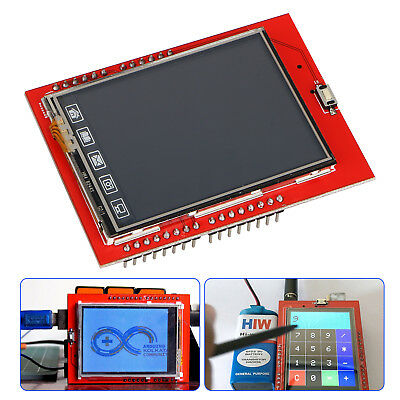 "2.4"" TFT LCD Display Shield Touch Panel for Arduino UNO R3 MEGA2560"