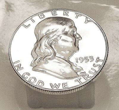 1953  Franklin   Choice  Proof   90%   Silver  >Coin  as  Pictured<  #921  8