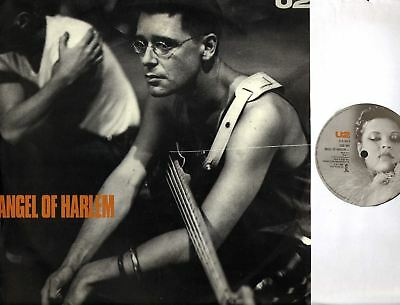 "U2 angels of harlem (UK Original) 12"" EX+/EX Pop Rock, Soul, 12 IS 402, Single"