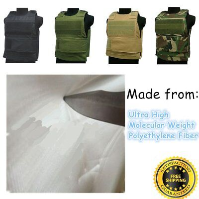 Anti-Stab Knife Vest Combat Assault Military Armour Defence Security  Guard K0