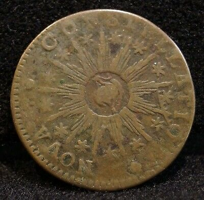 1783 Nova Constellatio Copper With Pointed Rays