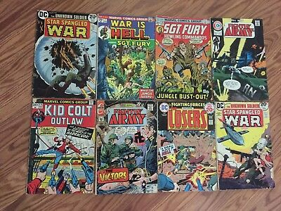 SGT Fury and His Howling Commandos 8 Comics