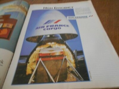 Air France French Airlines Airways advert  Werbung Time 1983 September