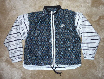 NIKE CHALLENGE COURT Tennis jacket Jacke US M Andre Agassi 1995 French Open