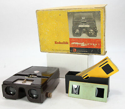 Vintage Kodaslide Stereo Viewer I with Stereo Slides, NON Working