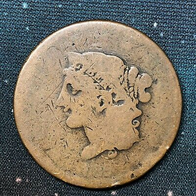 1839 Booby Head Large Cent