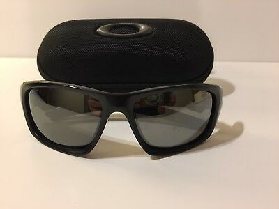 Oakley 'Valve' Matt Black Sunglasses