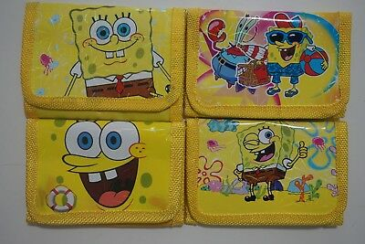 BUY 1 GET 1 FREE SpongeBob SquarePants Kids Child Purse Coins Wallet Bag Gift