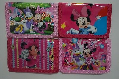 BUY 1 GET 1 FREE Minnie Mouse Girls Kids Women Purse Coins Wallet Party Bag Gift