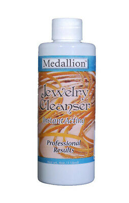 Medallion Jewelry Cleaner, Instant Acting Jewelry Cleanser, 4 oz. by Medalllion