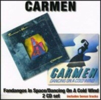 Fandangos In Space - Dancing On A Cold Wind Carmen Cd Audio 5055011702295 Angel