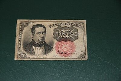 10  Cent  Fractional Currency FR 1266  Fine