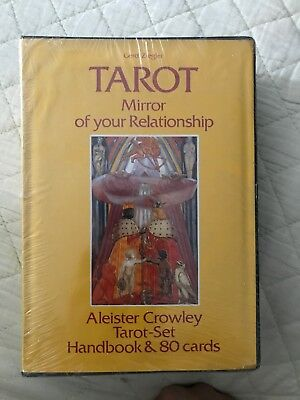 Tarot Mirror Of Your Relationship By Aleister Crowley Tarot Set And 80 Cards New