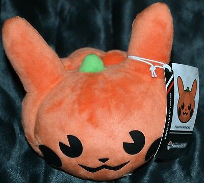 "5"" Pumpkin Pikachu Official Pokemon Center Poke Plush Dolls Toys (Standard Size)"