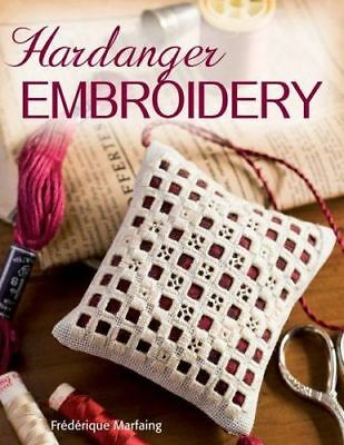 NEW Hardanger Embroidery By Frederique Marfaing Paperback Free Shipping