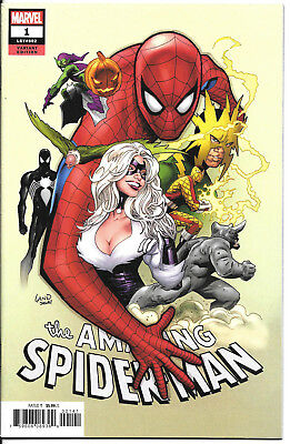 Amazing Spider-Man Vol 5 #1 Cover C Variant Greg Land Party Cover